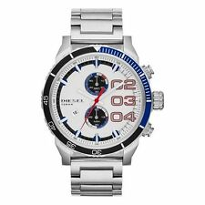 NEW DIESEL DZ4313 MENS DOUBLE DOWN 2.0 CHRONOGRAPH WATCH - 2 YEAR WARRANTY