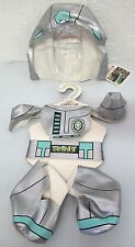 New * Bab Build A Bear Tmnt Ninja Turtles Dimension X Spacesuit Costume Clothes
