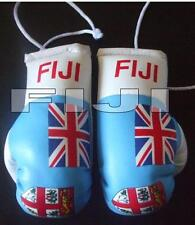 Fiji Flag/Fijian mini boxing gloves 4 your car mirror-Get the best. Great gift.