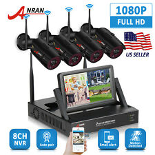 Anran Home Outdoor Wireless Security Camera System Wifi 1080P Hd Cctv Hdmi Nvr