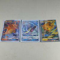 Hidden Fates Promo Pokemon Cards Charizard Gyarados Raichu GX Black Star Promo