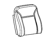 GM SEAT COVER PART# 19257248