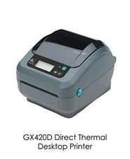 Zebra GX420D Label Direct USB Network Thermal Printer with LCDGX42-211910-0540