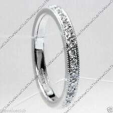 Platinum Band 0.33 - 0.49 Fine Diamond Rings