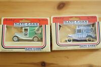 Rare Models of DAYS GONE Robinsons Squash and Godfrey Davis Ford Boxed MIB