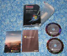 Windows Vista Ultimate Upgrade 32 and 64 Bit PC DVD Rom Software
