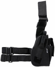 Mil-Tec Right Thigh Leg Pistol Holster For Police Security Hunting Outdoor Black