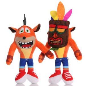 "Children's Toys Crash Bandicoot Crazy Trilogy Series Plush Doll 10"" 26 CM High"