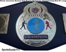 Grappling, MMA, UFC, Martial Art, Kick Boxing, Boxing Championship Belt 48""