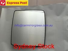 LEFT PASSENGER SIDE HOLDEN COMBO XC 2002 - onward MIRROR GLASS WITH BASE