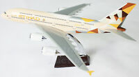 ETIHAD A380 Airbus LARGE  PLANE MODEL AIRPLANE APX 47cm With Wheels