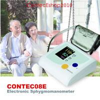 NIBP Electronic Blood Pressure Monitor Upper Arm Adult Cuff CONTEC08E