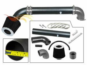 BCP RW GREY For 97-06 JEEP Wrangler TJ 2.5L L4  4.0L L6 Air Intake Kit +Filter