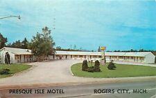 Rogers City Michigan~Presque Isle Motel~1972 Ed & Georgina Robin, Hosts