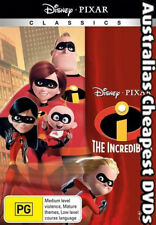 The Incredibles DVD NEW, FREE POSTAGE WITHIN AUSTRALIA REGION 4