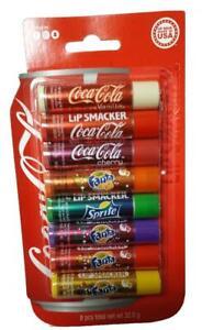 Lip Smacker Coca Cola Lip Balm Pack of 8