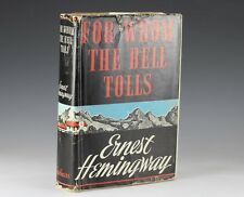 1940 For Whom The Bell Tolls By Ernest Hemingway ~ 1st Edition