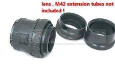 M39 enlarging enlarger lens helical focuser M42 Mount Ring Adapter Extension