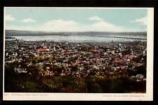 1902 view from mt.royal montreal canada postcard