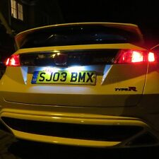 HONDA CIVIC MK8 FN2 XENON WHITE 5 SMD CANBUS LED LICENSE REG NUMBER PLATE LIGHTS