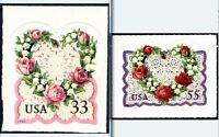 United States Scott 3274-3275, the 33¢ & 55¢ Victorian Love Issues Set of 2 MNH