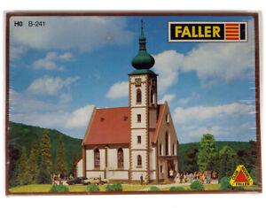FALLER B-241 HO H0 Village Church , Dorfkirche , Eglise de village , Dorpskerk