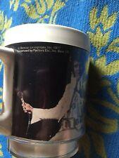 Elvis Presley Collectible Plastic Cup Mug Rare Vintage 1977 Poster Picture