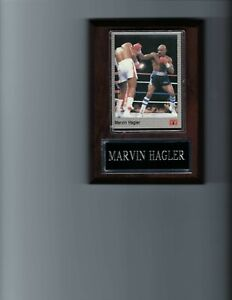 MARVIN HAGLER PLAQUE BOXING FIGHT ACTION