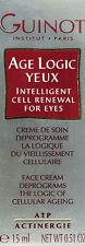 Guinot Age Logic Yeux Eye Cream Creme 15ml(0.5oz) Brand New