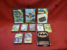 Vintage ZX Spectrum Games Joblot