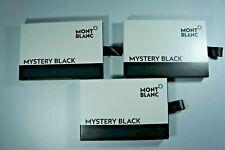 Montblanc MYSTERY BLACK 3 packs of 8 Ink Cartridges BNIB 105191