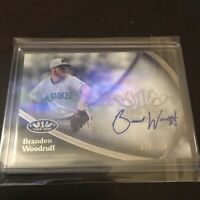 Topps Tier One Brandon Woodruff Auto On Card Brewers Ace 2020 SP /299