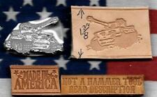 Buckshot Leather Craft Arbor Shop Manual/ Hydraulic Press Tool Usa Military Tank