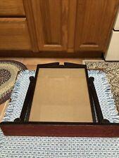 Vintage Tilt Swivel Photo Picture Frame Wood Fits 10 x 8 , 13� Base