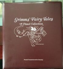 1986 Walt Disney Stamps & Commemorative Sheets Collection Of Grimm's Fairy Tales