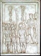Roman Forum Sculpture Italian Caesar Greek Artwork Art Home Decor Wall Plaque