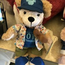 2018 Disneyland Duffy the Disney bear Plush 12""