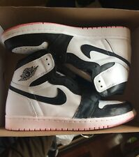Nike Air Jordan 1 Retro High OG YIN YANG White Men's Basketball Shoes SIZE 10