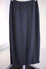 Esprit De Corp. 100% Polyester Multi-Colored Long Lined Pencil Skirt Sz-3/4