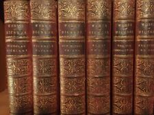 New listing The Works of Charles Dickens in Leather Bindings