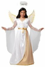 Guardian Angel Christmas Costume Child XS 4 - 6 Wings and Halo