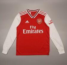 NWOT LongSleeve Arsenal Home 2019 2020 Football Soccer Shirt Adidas Youth Size L