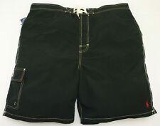 """Polo Ralph Lauren Homme Noir Kailua Trunk Shorts De Bain Taille 3XB Big UK 44-46"""""""