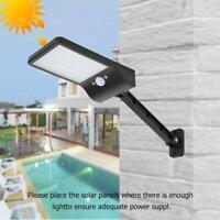 Lampe Solaire LED Avec Pir Détecteur de Mouvement Extérieur Projecteur Capteur