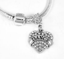 Dance Necklace Dancing Gift chain Dancer Present Dance Pendent Dance Necklace