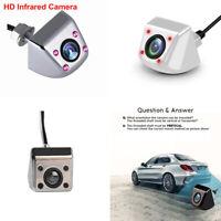 Car Reversing Camera HD CCD Line 4 LED Infrared Night   Rear View Camera