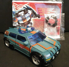 Transformers G1 KUP ( Red Alert repaint with new head ) Botcon 2009 Timelines