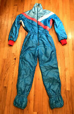 Vintage Ellesse One Piece Apres Ski suit Sz 8 Made In ITALY Womens Coverall