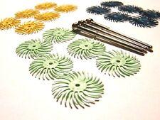 3m radial disques fixés pour le feu scale-metal d'argile - polishing-silver-gold-all métaux