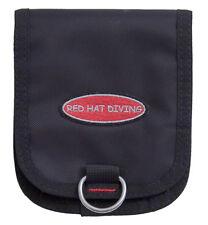 Scuba diving trim weight pocket D Red Hat Diving